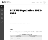 US Population 1982-1988