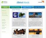 Global Words: Junior Primary Resources