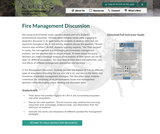 Fire Management Discussion