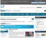 Welfare Reconstruction