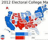 American Government, Electoral College Votes by State, 2012–2020, Electoral College Votes by State, 2012–2020