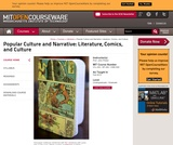 Popular Culture and Narrative: Literature, Comics, and Culture, Fall 2010