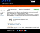 Frequency Distributions: A Data-Driven Learning Guide
