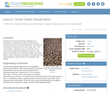 Ocean Water Desalination