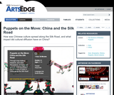 Puppets on the Move: China and the Silk Road