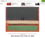 Mark Rothko's No. 3/No. 13