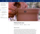Making Greek vases
