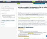 Deaf Education Law, Advanced-Low, ASL 301, Lab 07