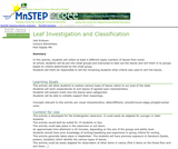 Leaf Investigation and Classification
