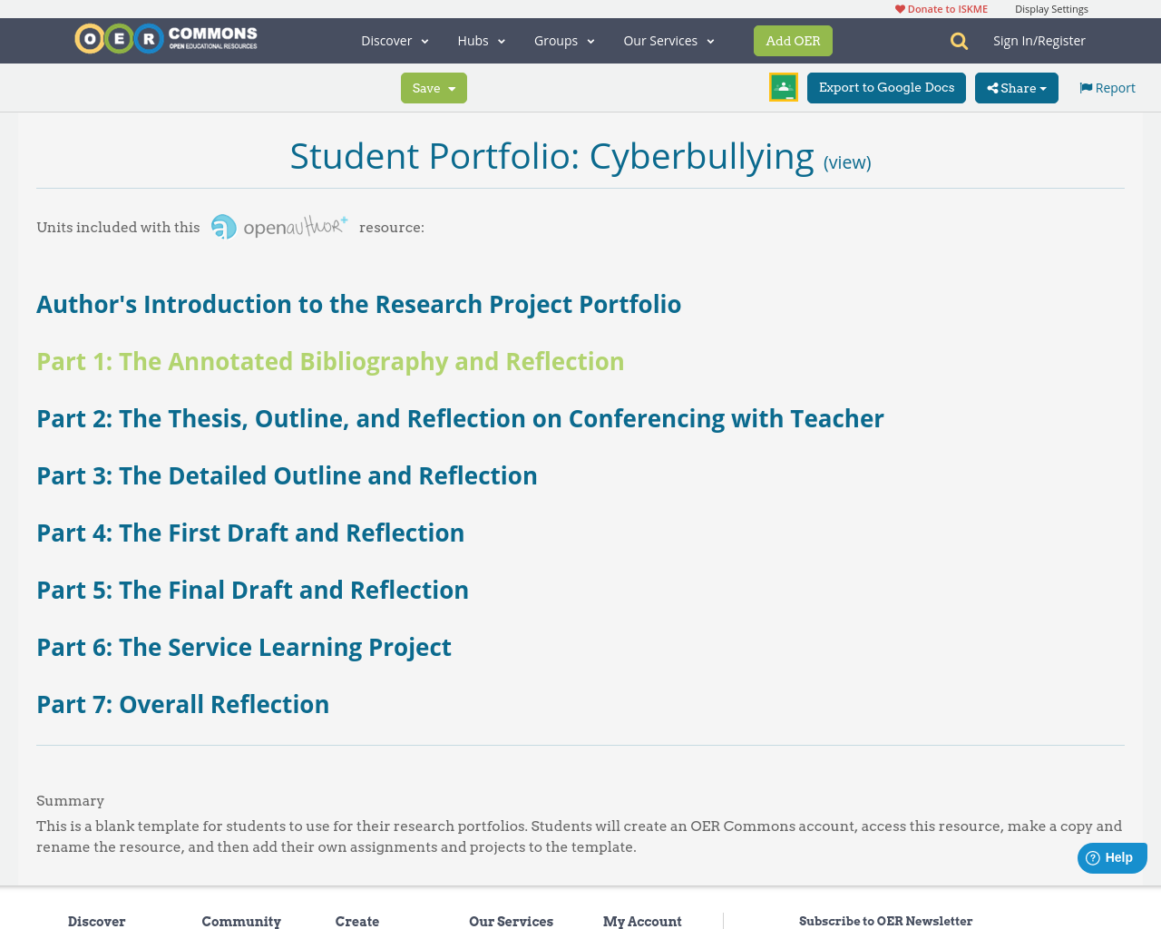 cyberbullying research paper outline Student portfolio: cyberbullying thesis and sentence outline cyberbullying: but a very crucial step in creating my research paper.