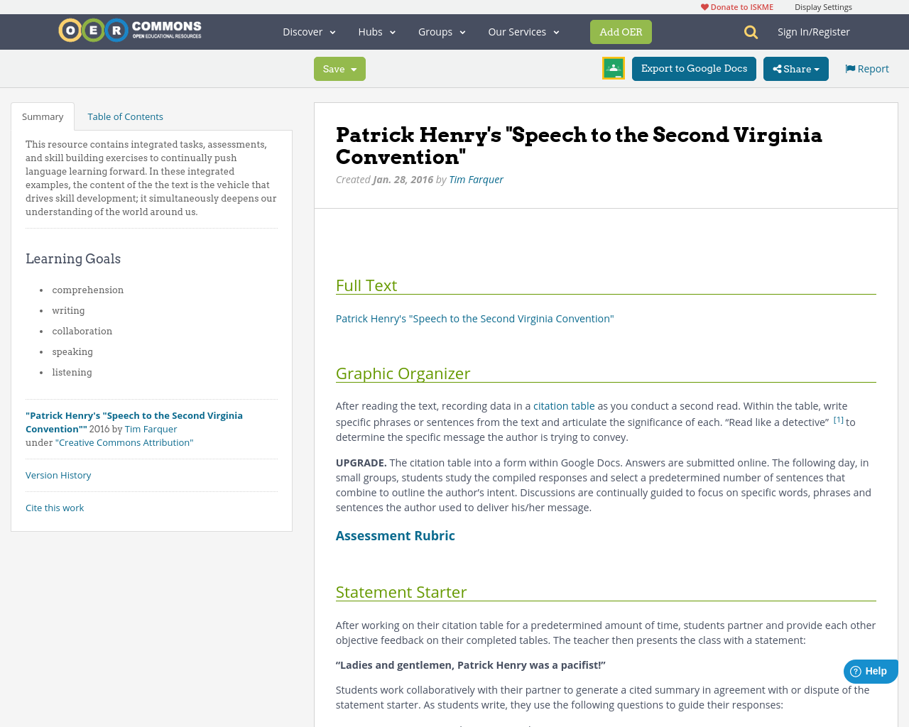 patrick henry s speech to the second virginia convention oer patrick henry s speech to the second virginia convention oer commons
