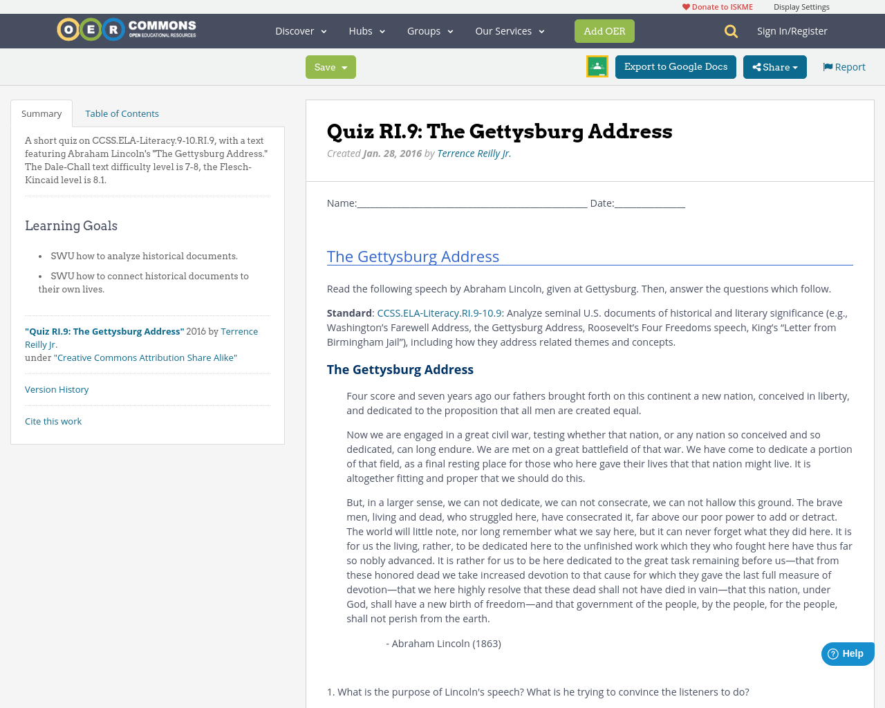 an analysis of the different opinions regarding gettysburg This lesson discusses the gettysburg address, one of the most famous speeches in american history learn more about what abraham lincoln's speech means and test your knowledge with a quiz.