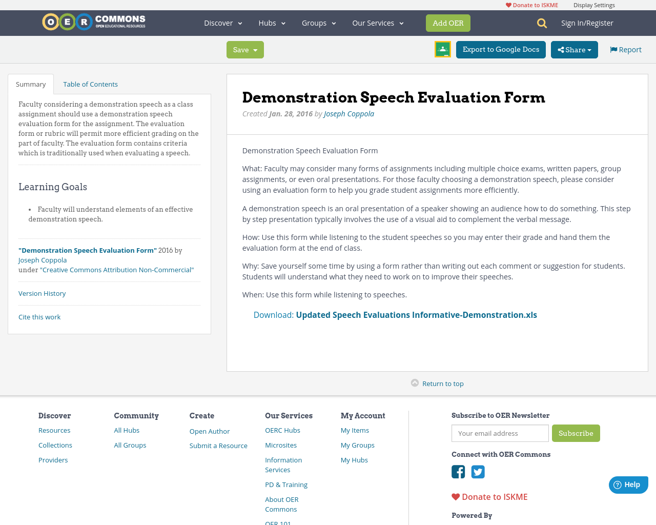 how to do demonstration speech